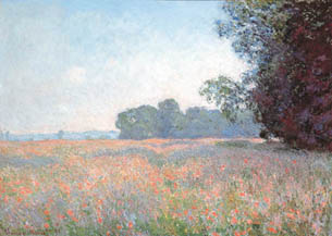 Monet Landscape Field Field  depicts a landscape