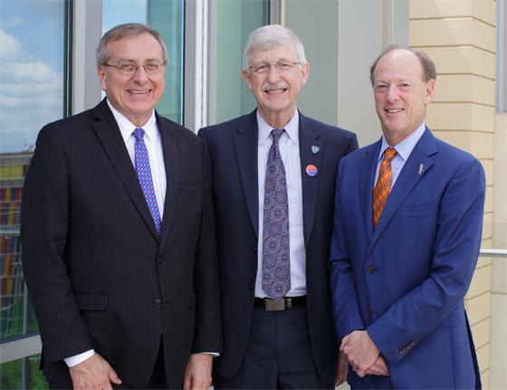 NIH Director Visit