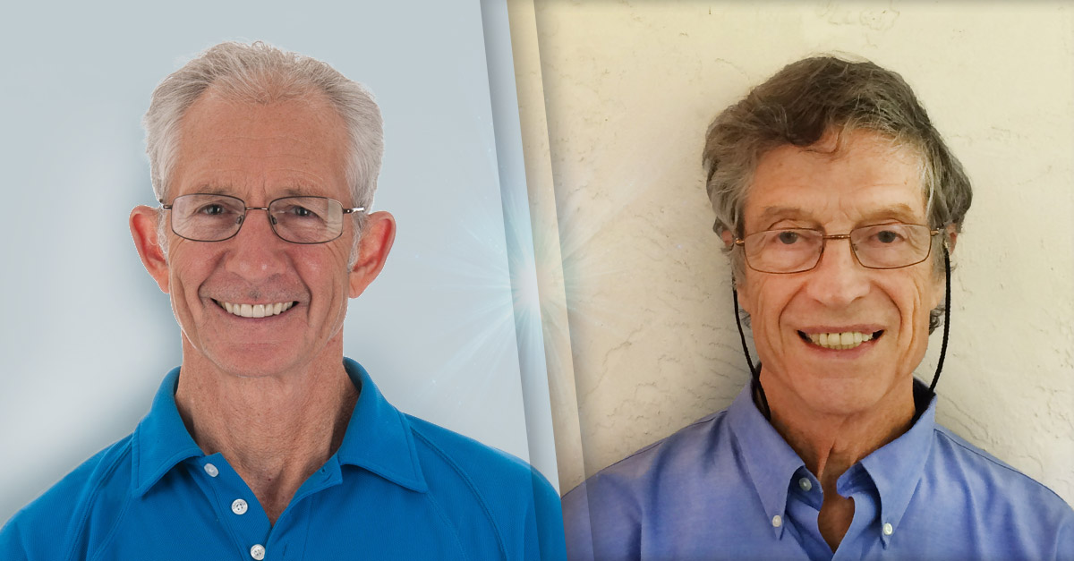 Portraits of UF faculty members, Doug Soltis and Art Hebard