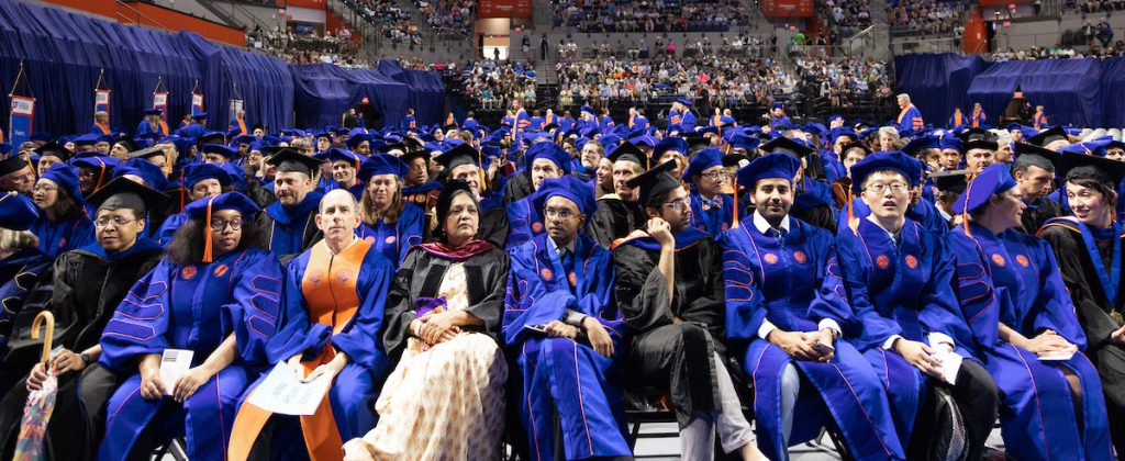 UF Doctoral Commencement