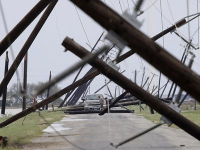 Hurricane Harvey damage